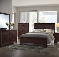 Coaster Fenbrook Dark Cocoa 4 Piece Bedroom Set