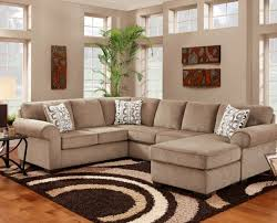 affordable furniture jesse cocoa 2 piece sectional