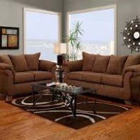 Affordable Furniture Aruba Chocolate Sofa And Loveseat