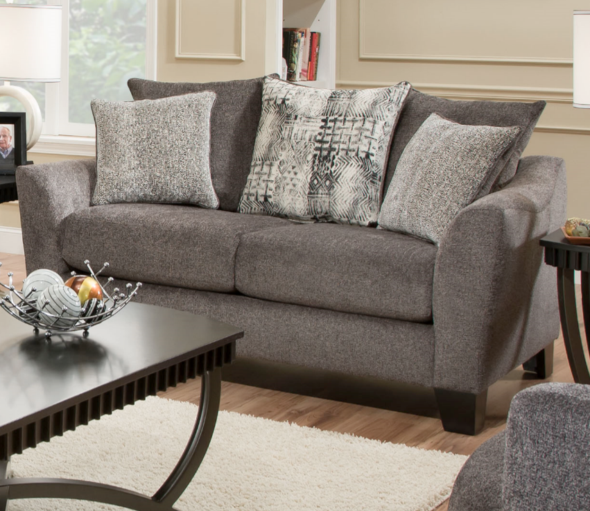 Albany Industries Tremont Slate Sofa And Loveseat