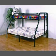 Donco Trading Company Black Twin/Full Bunkbed