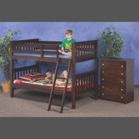 Donco Trading Company Cappuccino Mission Twin/Twin Bunkbed