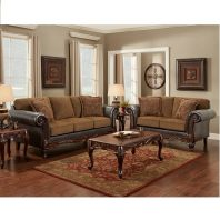Affordable Furniture Wink Chestnut Sofa U0026 Loveseat