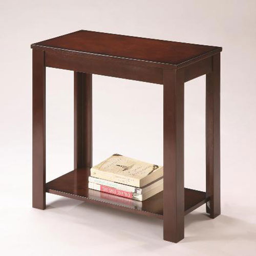 Crown mark pierce chairside table for Markup table