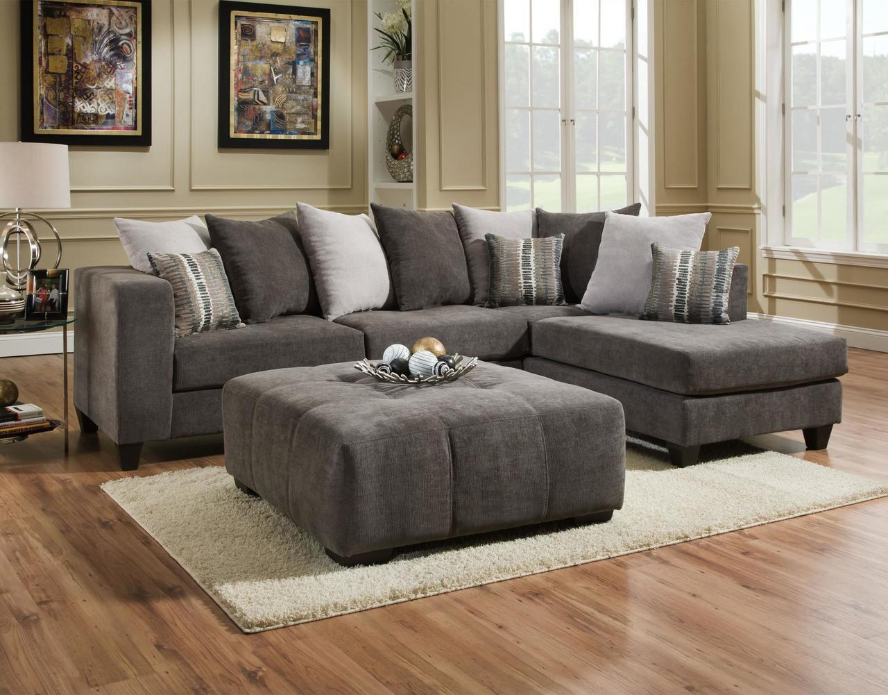 Phenomenal Heavenly Mocha 2 Piece Sectional Squirreltailoven Fun Painted Chair Ideas Images Squirreltailovenorg
