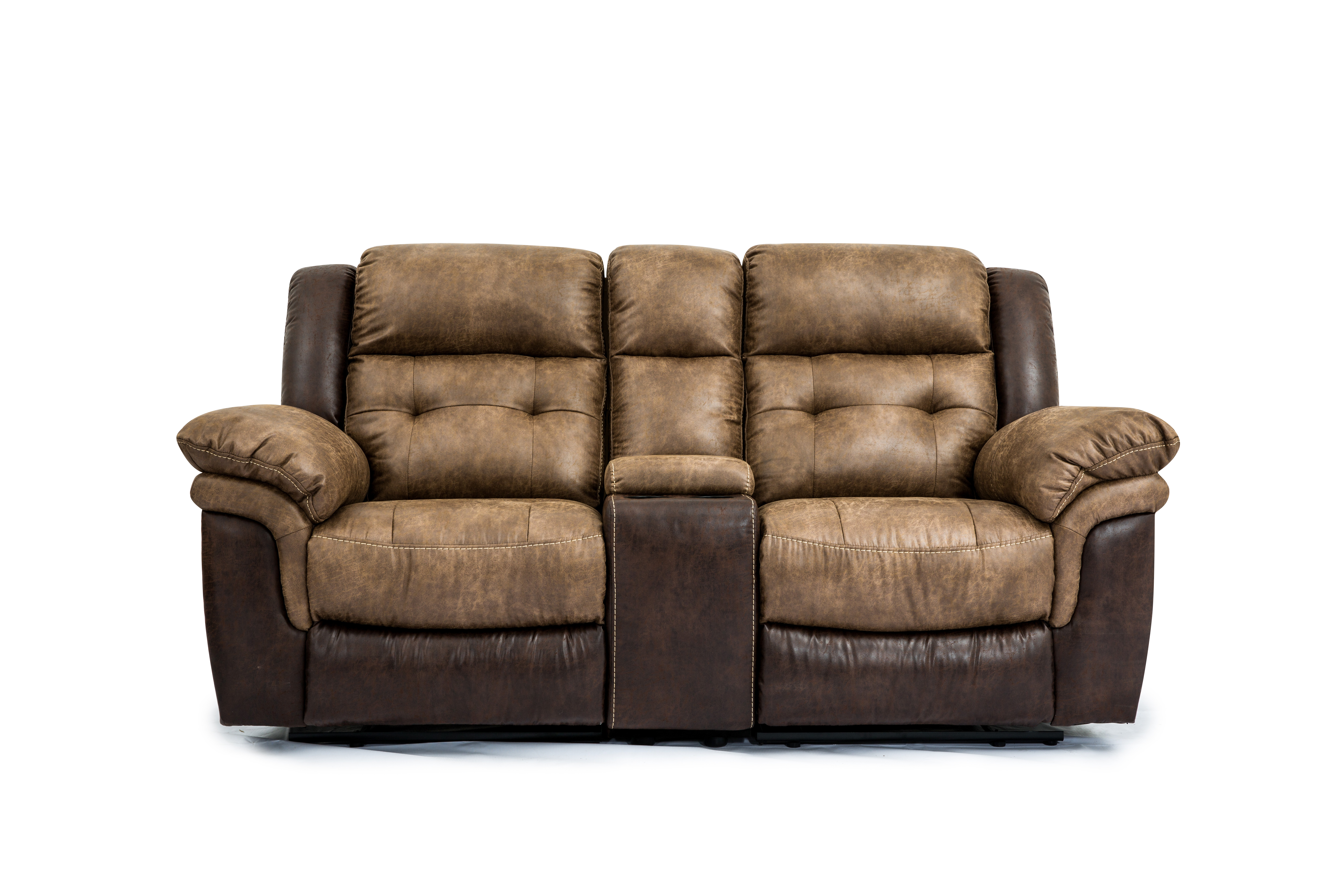 Silt Dual Reclining Loveseat With Console