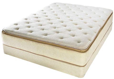 Englander Queen Visco Grand Pillow Top Mattress