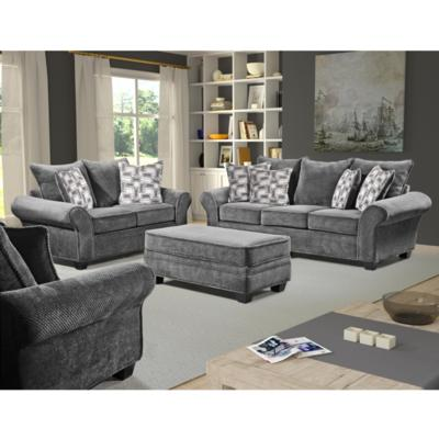Trinidad granite sofa and loveseat for Living room furniture trinidad