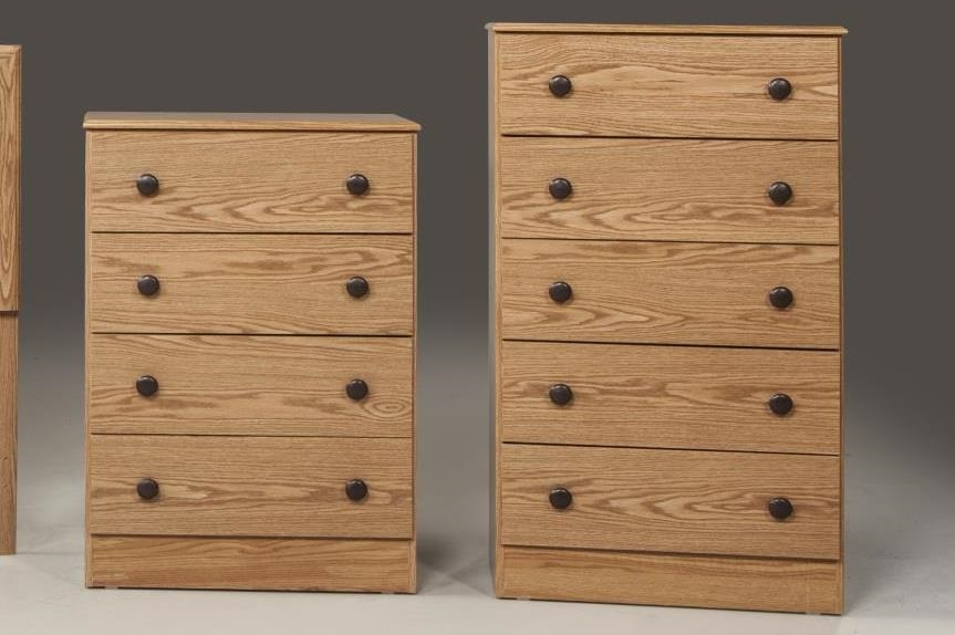 Kith Furniture Oak 5 Drawer Chest