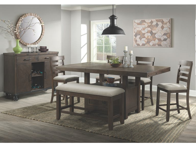Elements International Colorado 6 Piece Counter Height