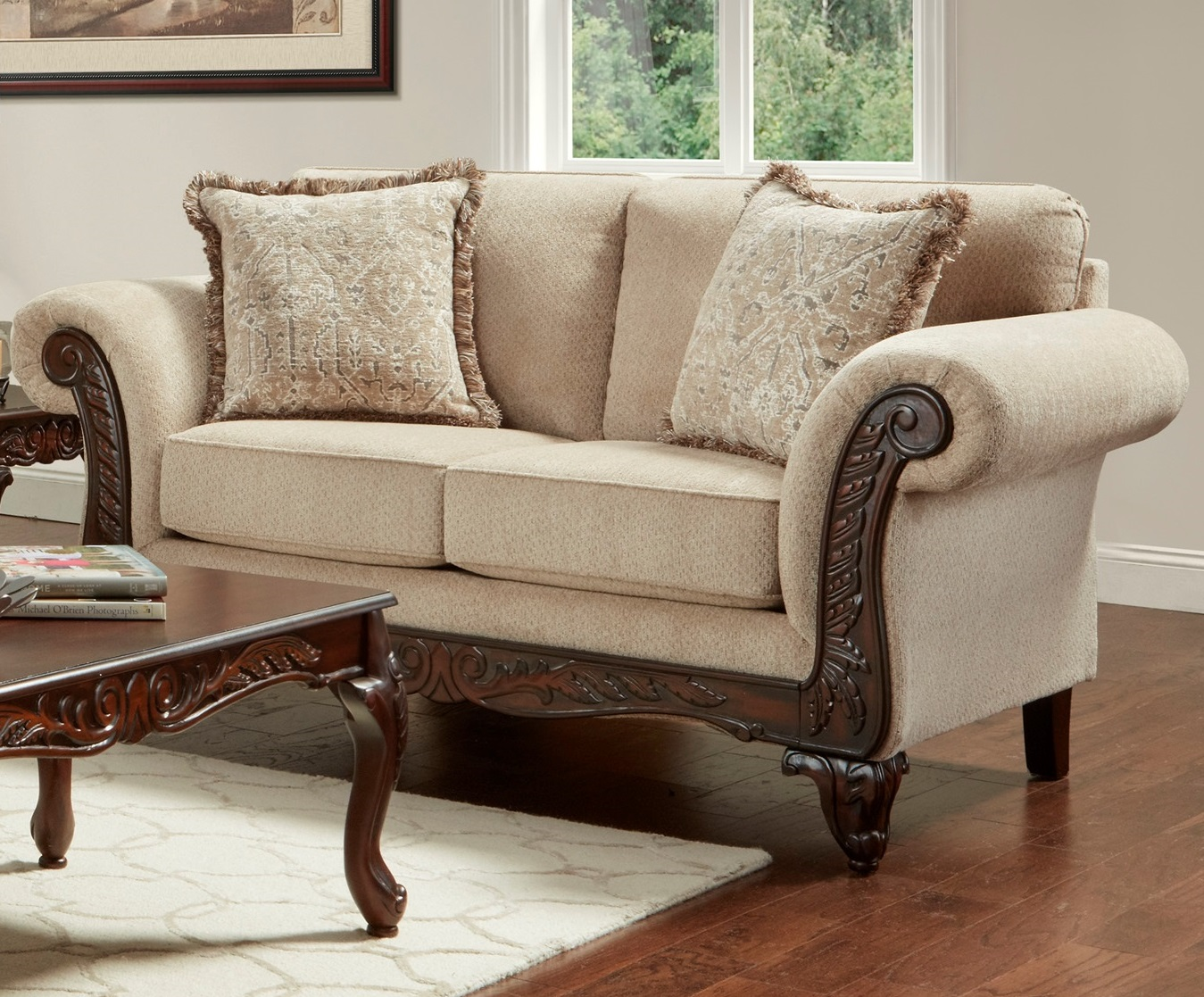 Emma Wheat Loveseat
