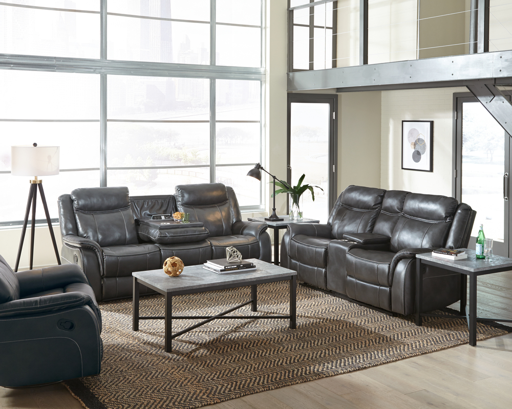 Astounding Avalon Charcoal Motion Sofa And Loveseat Gmtry Best Dining Table And Chair Ideas Images Gmtryco