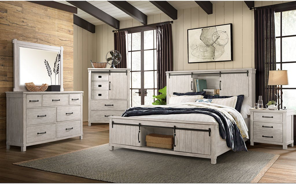Scott 4 Piece Bedroom Set
