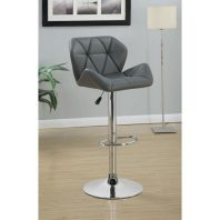 CT/100426 GREY ADJUSTABLE BARSTOOL