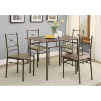 CT/100033 BRONZE 5 PC DINETTE