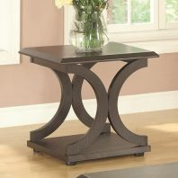 CT/703147 CAPPUCCINO C SHAPE END TABLE
