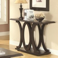 CT/703149 CAPPUCCINO C SHAPE SOFA TABLE